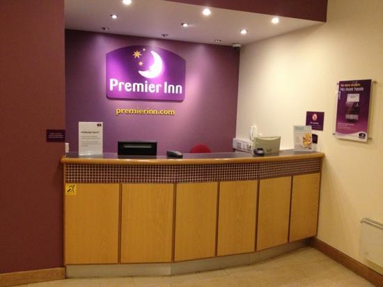 reception picture of premier inn caernarfon hotel caernarfon