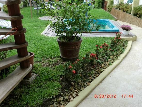 Hotel Casa Alegre / Posada Nena: Patio area