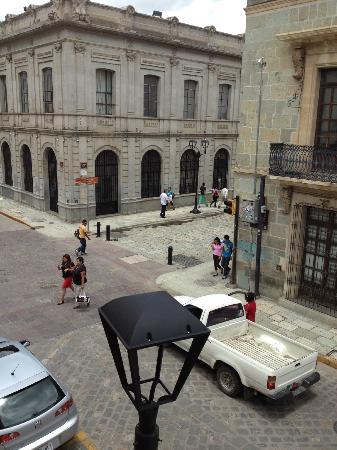 Casa de Siete Balcones: Vista desde un balcon