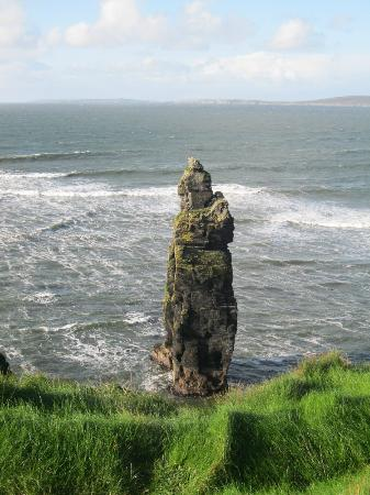 Bromore Cliffs: The Stack -BromoreCliffs