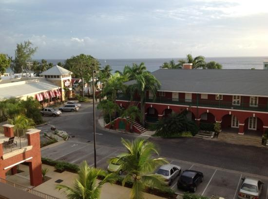 Courtyard Bridgetown, Barbados: Viwe From 4th Floor Balcony Room