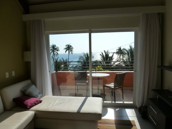 Pestana Bahia Lodge: Room view and balcony