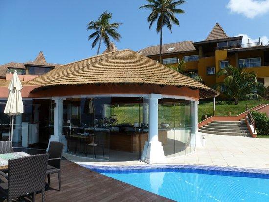 Pestana Bahia Lodge: Lovely restaurant by the pool