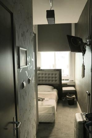 Hotel Hermitage Amsterdam: toute la chambre est là !