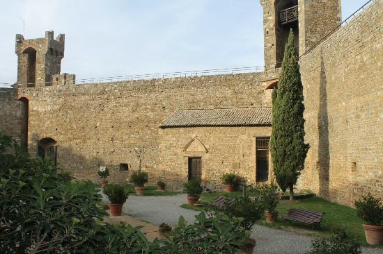 Montalcino, Italy: l'interno della Fortezza