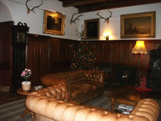 Barcaldine Castle: Festive Dining Room