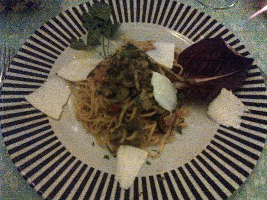 Il Posto Accanto : seafood spaghetti