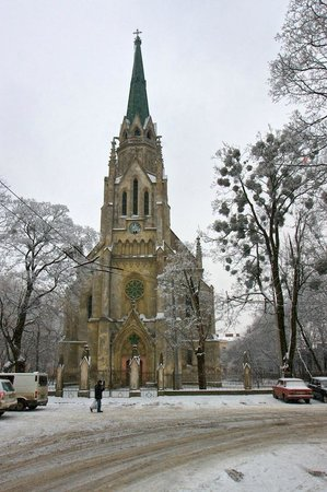 Church of the Heart of Jesus, Chernivtsi