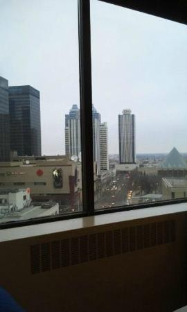 The Westin Edmonton: View from the room