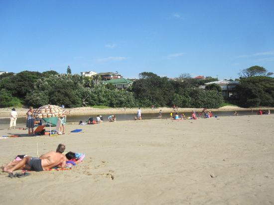 Doubleview B&B: Beach in Morgan Bay