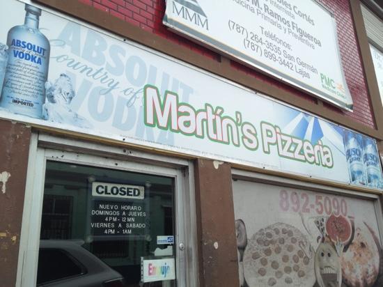 Martin's Pizza : Martins Pizzería