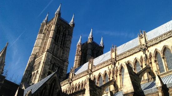 Lincoln Christmas Market: Lincoln Cathedral