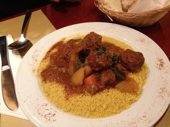 Gam Gam Kosher Restaurant: cous cous di carne