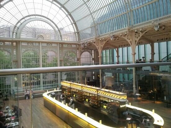 Paul hamlyn hall balcony restaurant and bar london for The balcony restaurant