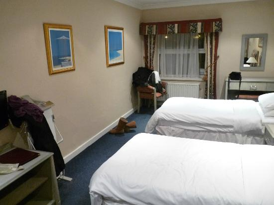Chesters Hotel and Restaurant: twin room