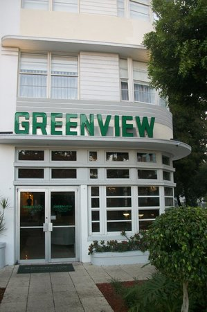 Greenview Hotel: Entrada