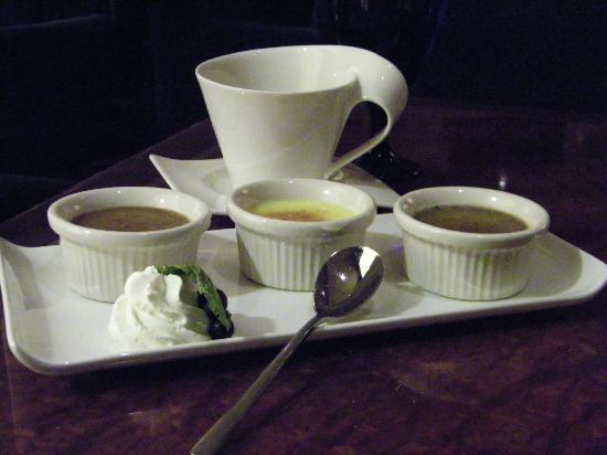 Michele's: Trio of Creme Brulee