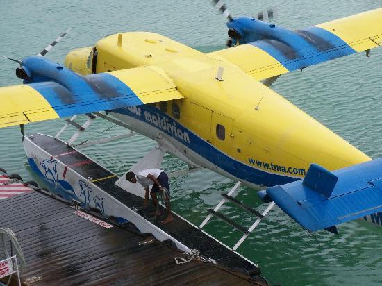 Conrad Maldives Rangali Island: seaplan