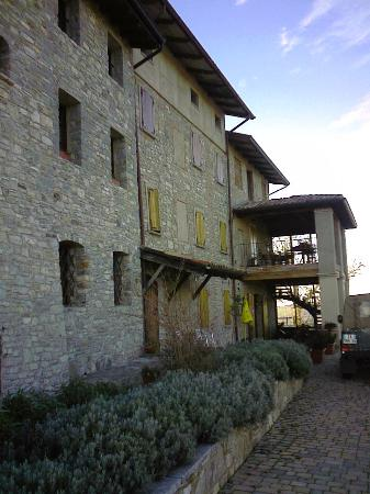 Borgo San Romano: Il Ristorante (Terrazza estiva sul alto non visibile)
