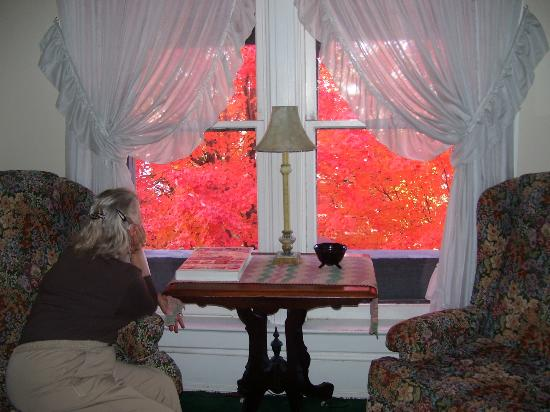 Reagan's Queen Anne: Discover a relaxing corner to enjoy the fall leaves