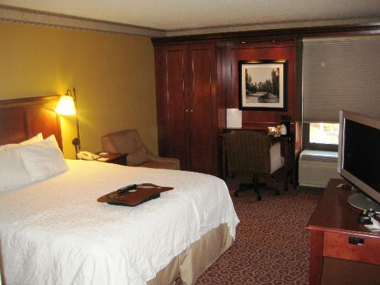 Hampton Inn Boston/Marlborough : King bed