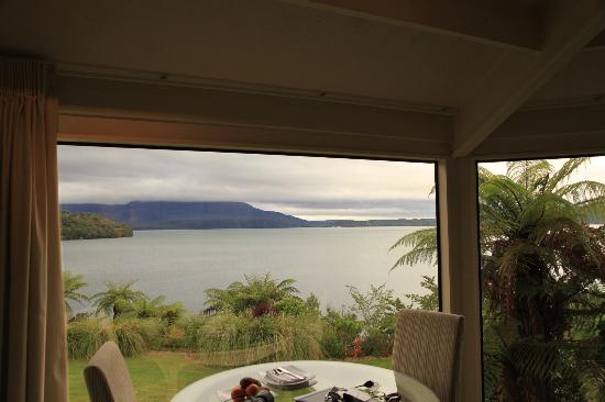 Solitaire Lodge : Tarawera Suite Dining area