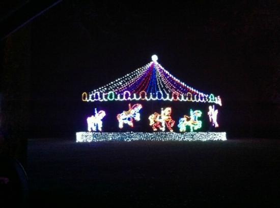 oglebay park carosel of lights - Oglebay Park Christmas Lights