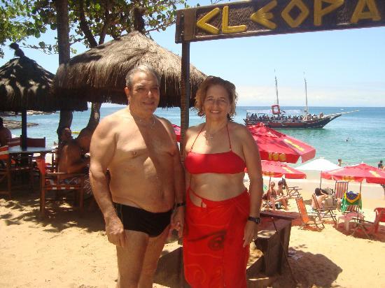El Parador Pousada: playa joao fernandez