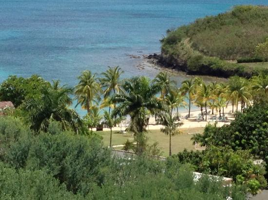 The Buccaneer St Croix: View of Mermaid Beach from the hill