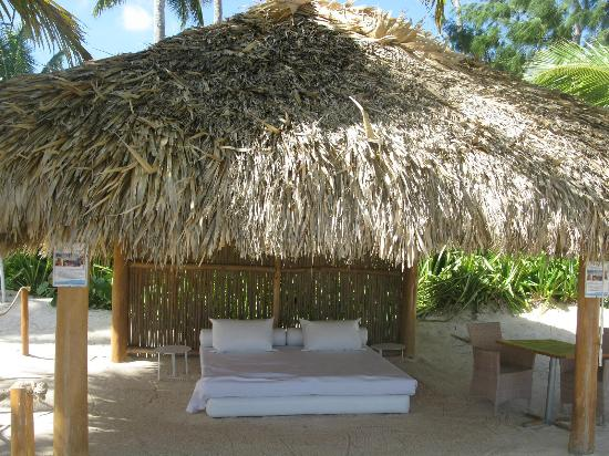 Catalonia Royal Bavaro: Private Lounging Area by Beach