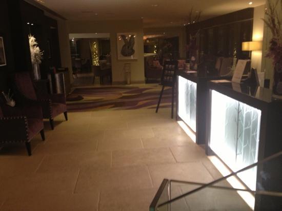 Hogarths Hotel: reception