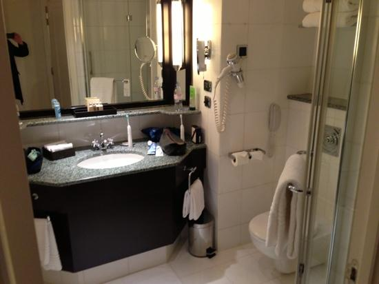 Paris Marriott Champs Elysees Hotel: deluxe bathroom