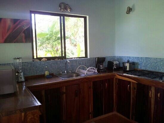 ‪‪Agua Vista‬: Kitchen in Casa Trogon