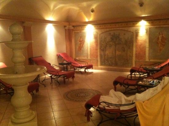 Castel Rundegg Hotel: area relax