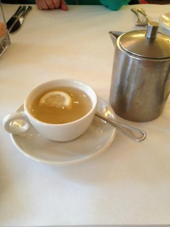 Hamersley's Bistro: green tea