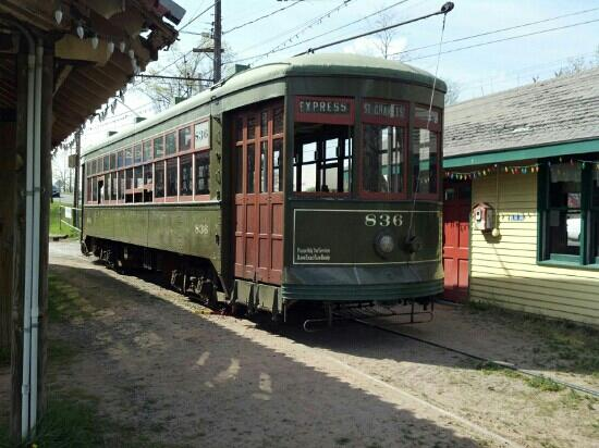 Connecticut Trolley Museum: Trolley #836