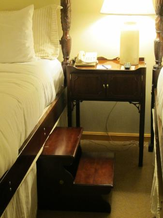 Admiral Fell Inn Step Stool For High Bed