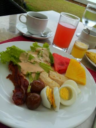 Amorita Resort : breakfast &saffron's