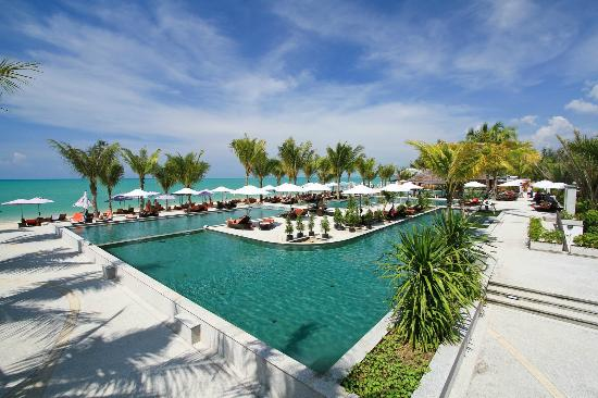Beyond Resort Khaolak: One of the 5 pools