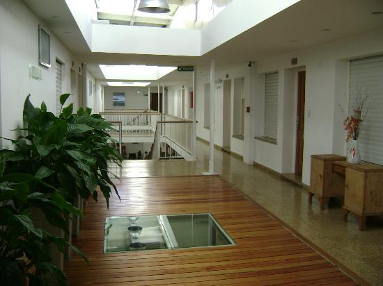 Igueldo Hotel Boutique: Corredor interno planta alta