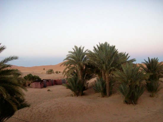Hotel Ksar Merzouga:                   Tents in the dunes