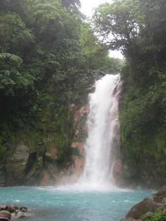 La Carolina Lodge: Rio Celeste Waterfall