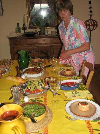 Matakohe B & B Petite Provence: Evening meal
