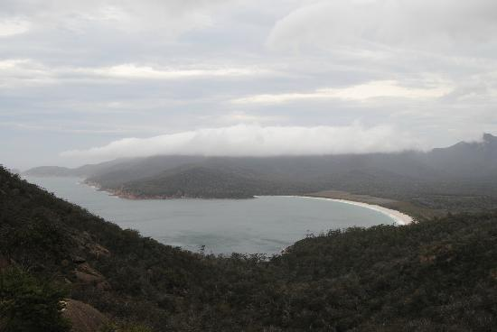 Wineglass Bay Lookout: Made it!
