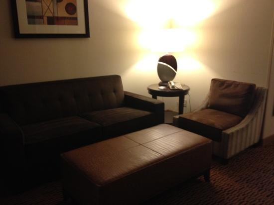 Embassy Suites by Hilton Dallas - Market Center: living room