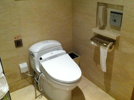 Hotel Nikko Shanghai: the heated toilet seat