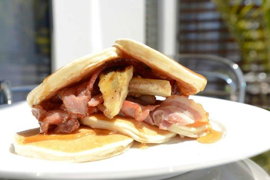 The Sails Nelson : Pancakes from our Breakfast Menu