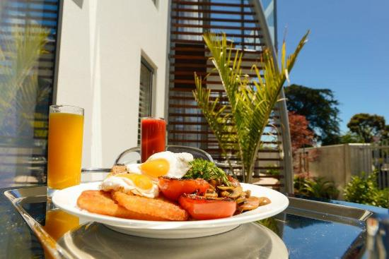 The Sails Nelson: Grand Breakfast from our Breakfast menu