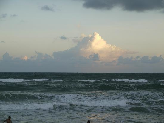 Sea at Puri beach
