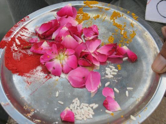 Mystic Jaisalmer Hotel : Welcome tika